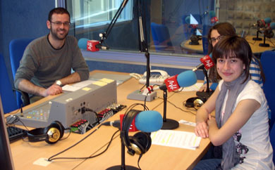 Es la primera entrevista de Margalló en la radio universitaria
