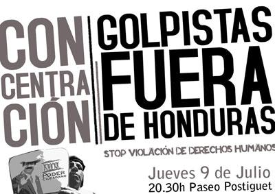 concentración Honduras